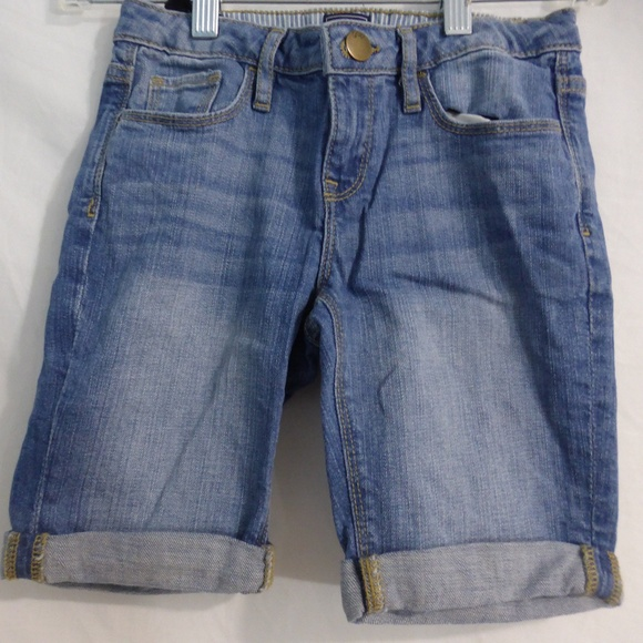 GAP Kids 8 years jean shorts with rolled bottoms
